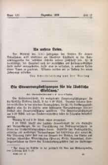 Archiv für Innere Kolonisation, 1929, Bd. 21, H. 12