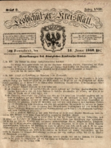 Leobschützer Kreisblatt, 1860, Jg. 18, St. 2