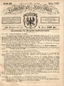 Leobschützer Kreisblatt, 1860, Jg. 18, St. 22