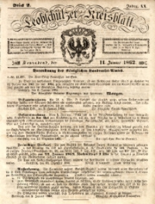 Leobschützer Kreisblatt, 1862, Jg. 20, St. 2