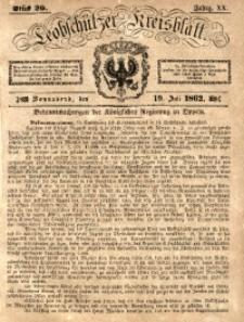 Leobschützer Kreisblatt, 1862, Jg. 20, St. 29