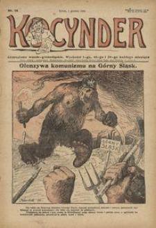 Kocynder, 1920, [R. 1], nr 14