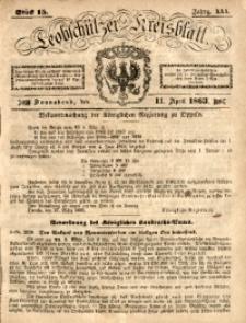 Leobschützer Kreisblatt, 1863, Jg. 21, St. 15