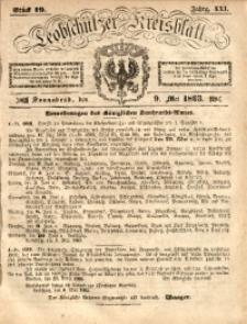 Leobschützer Kreisblatt, 1863, Jg. 21, St. 19
