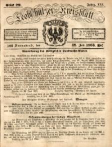 Leobschützer Kreisblatt, 1863, Jg. 21, St. 29