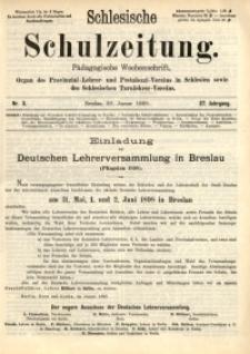 Schlesische Schulzeitung, 1898, Jg. 27, Nr. 3