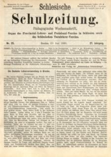 Schlesische Schulzeitung, 1898, Jg. 27, Nr. 25