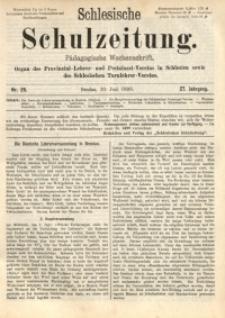Schlesische Schulzeitung, 1898, Jg. 27, Nr. 26