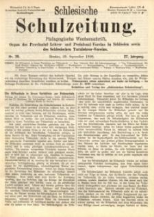 Schlesische Schulzeitung, 1898, Jg. 27, Nr. 39