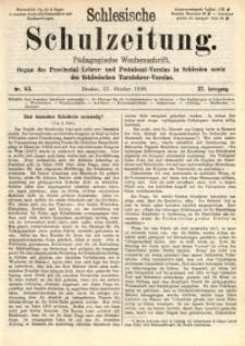Schlesische Schulzeitung, 1898, Jg. 27, Nr. 43