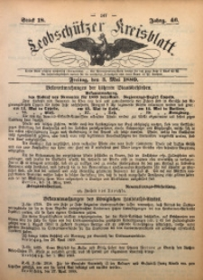 Leobschützer Kreisblatt, 1889, Jg. 46, St. 18