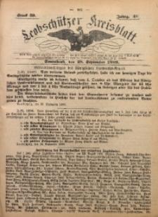 Leobschützer Kreisblatt, 1889, Jg. 46, St. 39