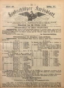Leobschützer Kreisblatt, 1889, Jg. 46, St. 43