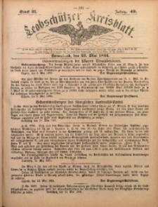 Leobschützer Kreisblatt, 1891, Jg. 49, St. 21