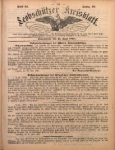 Leobschützer Kreisblatt, 1891, Jg. 49, St. 24