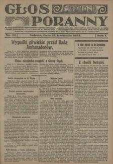 Głos Poranny, 1922, R. 1, nr 22