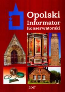 Opolski Informator Konserwatorski. [Nr 13].