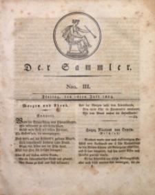 Der Sammler, 1824, Nro. 3