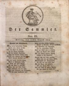 Der Sammler, 1824, Nro. 9