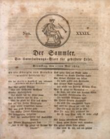 Der Sammler, 1825, Nro. 39