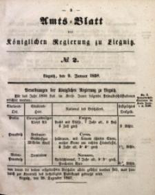 Amts-Blatt der Königlichen Regierung zu Liegnitz, 1858, Jg. 48, No. 2
