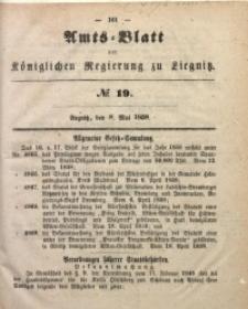 Amts-Blatt der Königlichen Regierung zu Liegnitz, 1858, Jg. 48, No. 19