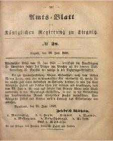 Amts-Blatt der Königlichen Regierung zu Liegnitz, 1858, Jg. 48, No. 28