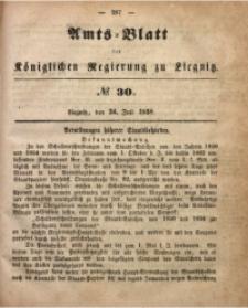 Amts-Blatt der Königlichen Regierung zu Liegnitz, 1858, Jg. 48, No. 30