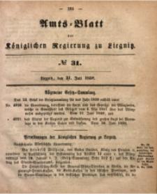 Amts-Blatt der Königlichen Regierung zu Liegnitz, 1858, Jg. 48, No. 31