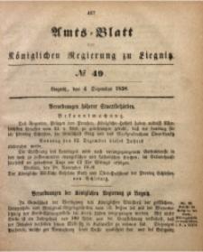 Amts-Blatt der Königlichen Regierung zu Liegnitz, 1858, Jg. 48, No. 49