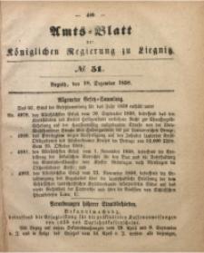 Amts-Blatt der Königlichen Regierung zu Liegnitz, 1858, Jg. 48, No. 51