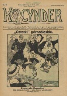 Kocynder, 1921, [R. 2], nr 21