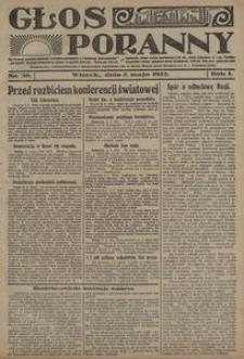 Głos Poranny, 1922, R. 1, nr 30