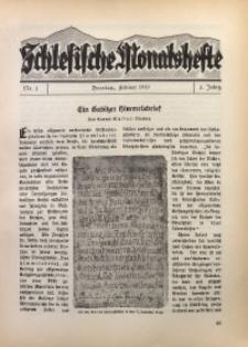 Schlesische Monatshefte, 1925, Jg. 2, Nr. 2