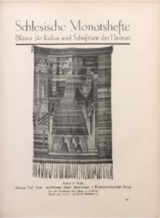 Schlesische Monatshefte, 1927, Jg. 4, Nr. 8
