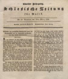 Schlesische Zeitung für Musik, 1834, Jg. 2, No. 13
