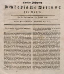 Schlesische Zeitung für Musik, 1834, Jg. 2, No. 32