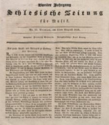 Schlesische Zeitung für Musik, 1834, Jg. 2, No. 33
