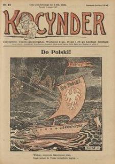 Kocynder, 1921, [R. 2], nr 23