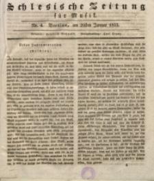 Schlesische Zeitung für Musik, 1833, Jg. 1, Nr. 4