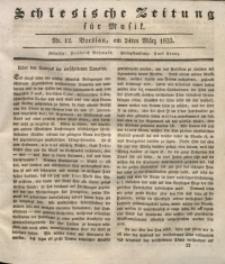 Schlesische Zeitung für Musik, 1833, Jg. 1, Nr. 12
