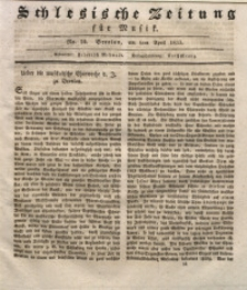 Schlesische Zeitung für Musik, 1833, Jg. 1, Nr. 14