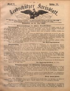Leobschützer Kreisblatt, 1892, Jg. 50, St. 24