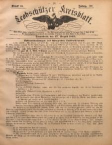 Leobschützer Kreisblatt, 1892, Jg. 50, St. 35