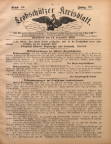 Leobschützer Kreisblatt, 1892, Jg. 50, St. 39
