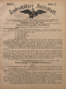 Leobschützer Kreisblatt, 1894, Jg. 52, St. 28