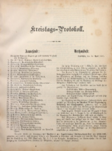 Kreistags-Protokoll, 12.04.1894