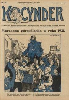 Kocynder, 1921, [R. 2], nr 25