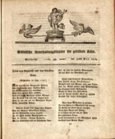 Schlesische Unterhaltungsblätter für gebildete Leser, 1810, Jg. 1, Nr. 45