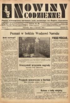 Nowiny Codzienne, 1936. R. 26, nr 9